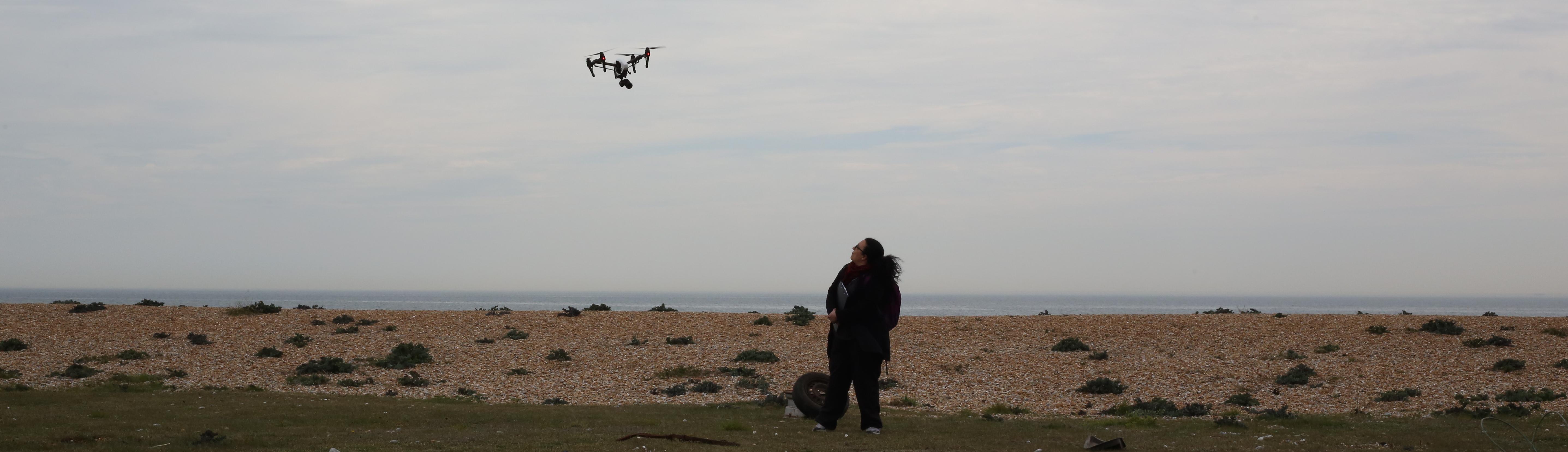 Annetta directs drone