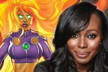 "Anna Diop Cast as Starfire in a New ""Titans"" Live-Action TV Series"