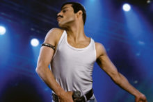 "Rami Malek dazzles as Freddie Mercury in first promotional photo for the upcoming ""Bohemian Rhapsody"" movie"